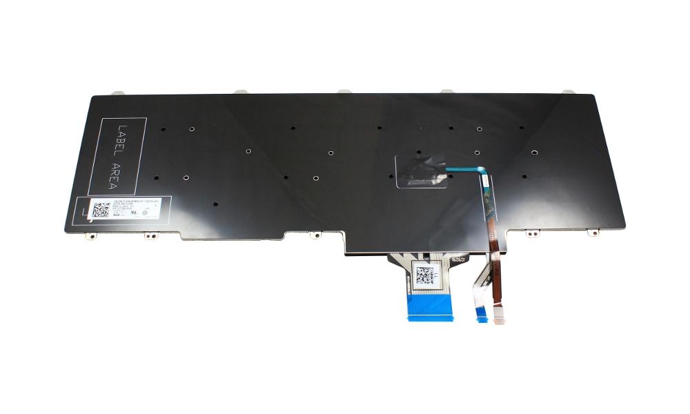 Tastatura laptop Dell Precision 7720, layout US, fara iluminare