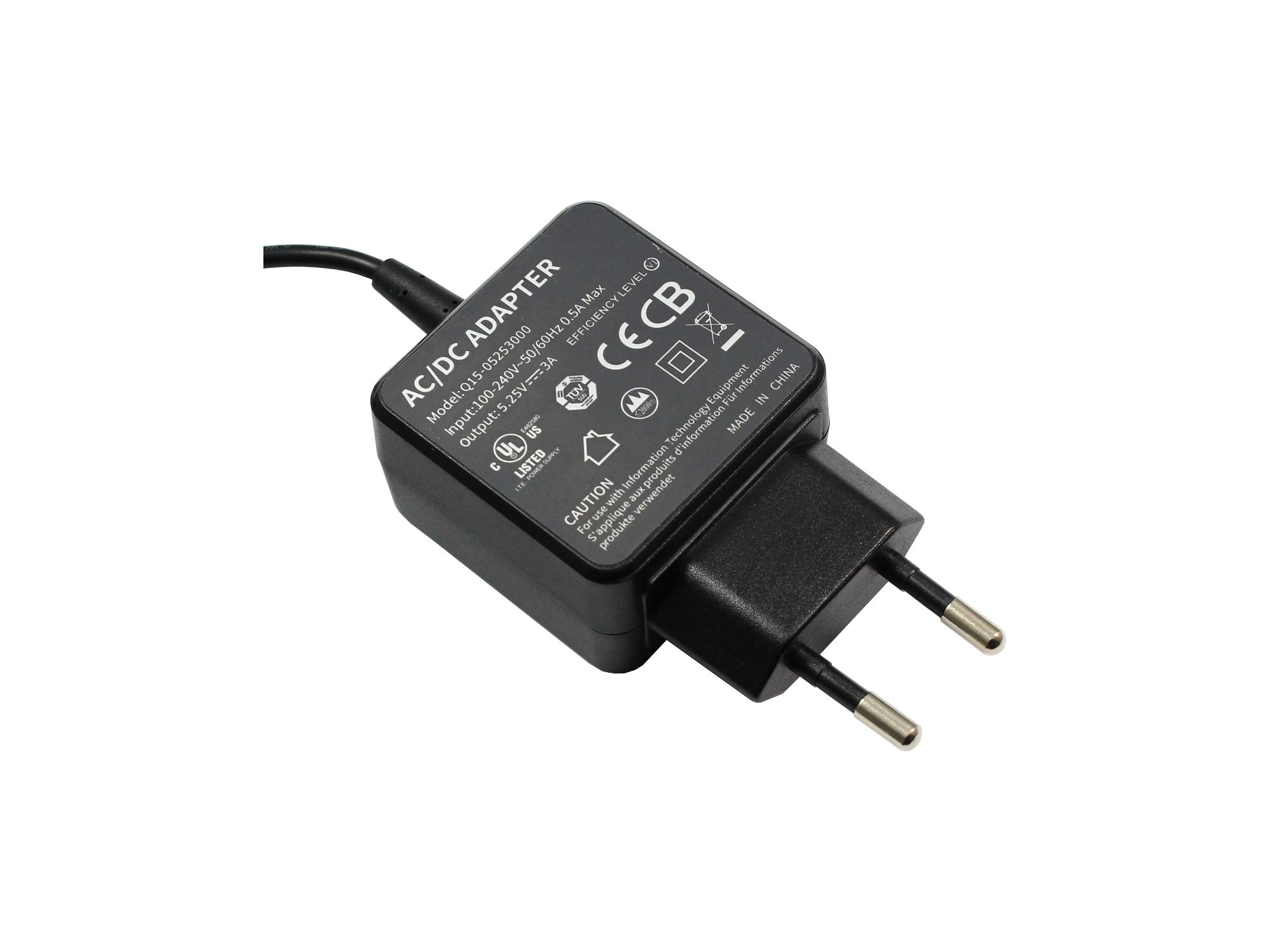Incarcator 5.25V 3A 15W Micro-USB pentru HP ChromeBook 11-2000 series