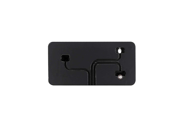 Stand de incarcare 3 in 1, pentru iPhone XS, X, Max, XR, 8, 8 Plus, 7, 7 Plus, 6S, 6S Plus, 6, 6 Plus, SE, 5S, 5C, 5, AirPods, Apple Watch 4 3 2 1, aluminiu, negru