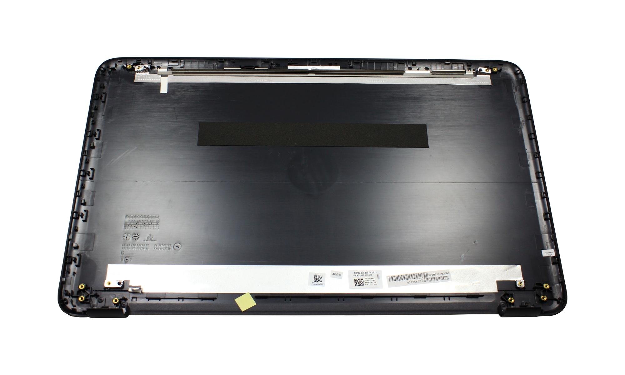Capac display original HP 15-BA, negru