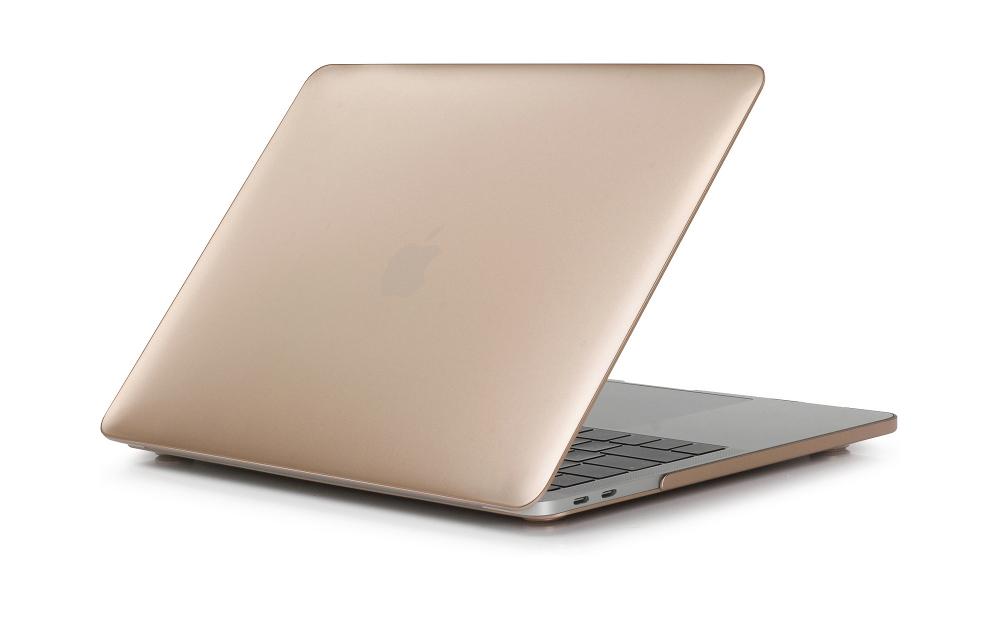 """Carcasa de protectie eStuff pentru Apple MacBook Pro 13"""" (Retina, Mid 2014) A1502 13"""" (Retina, Early 2013) A1425 13"""" (Retina, Late 2012) A1425 13"""" (Retina, Late 2013) A1502, auriu metalic"""