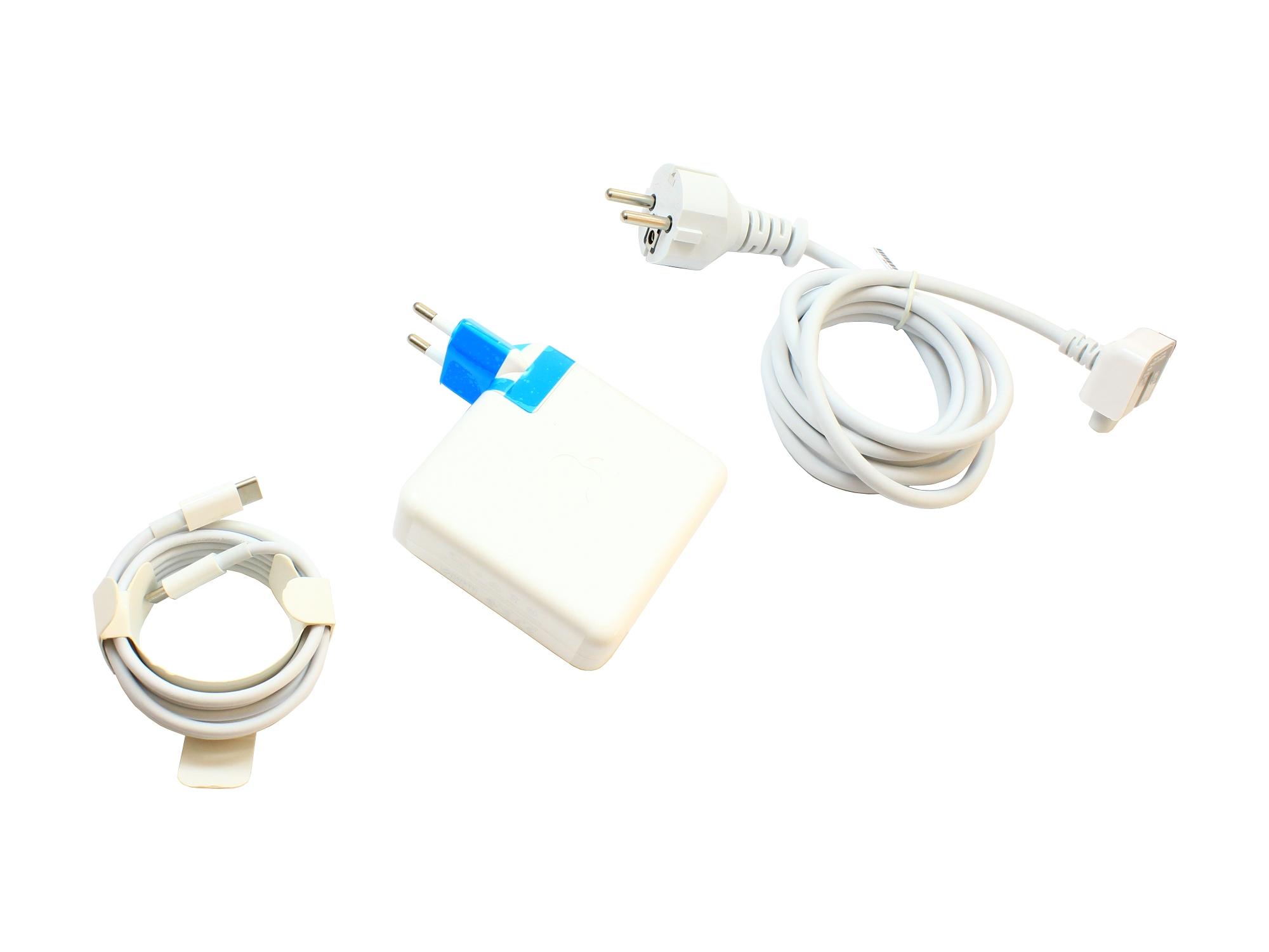 """Incarcator original Apple A1719 87W USB-C pentru MacBook Pro 15"""" Touch/Mid-2018 A1990, ambalare bulk"""