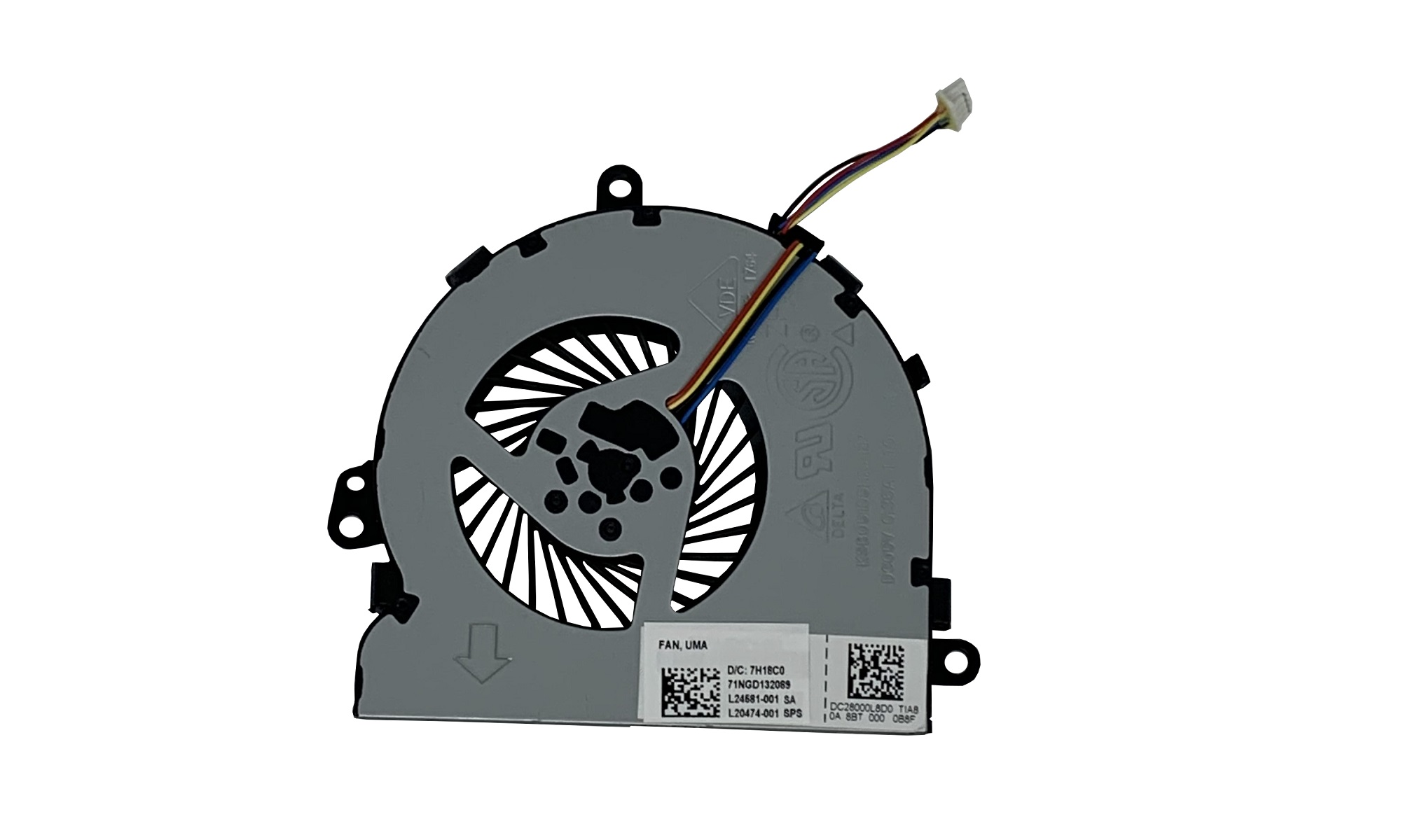 Cooler original HP 250 G7