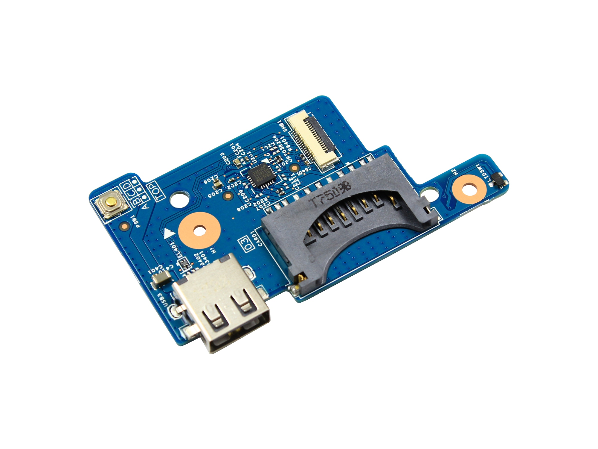 Buton power, Card Reader si mufa USB pentru  Acer Aspire ES1-531
