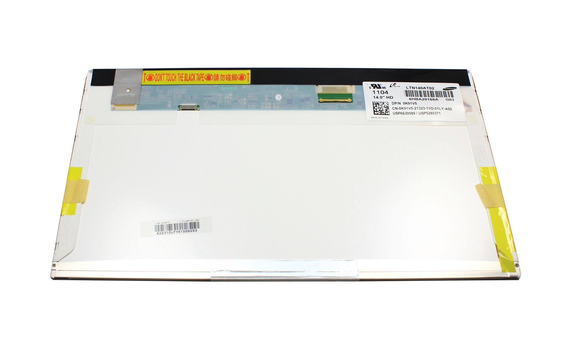 Display laptop LCD Dell, WXGAHD 1366 x 768