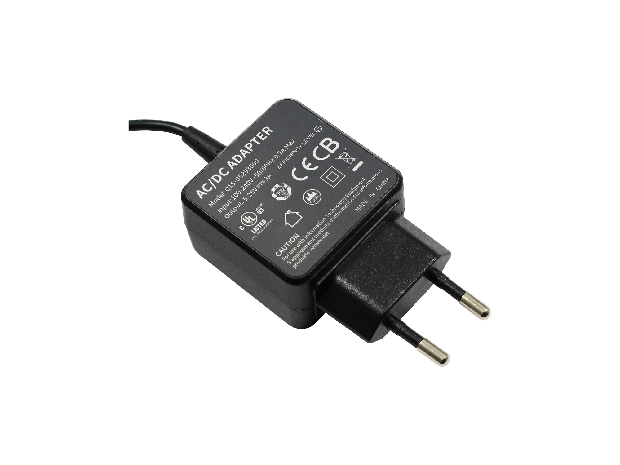 Incarcator 5.25V 3A 15W conector Micro-USB
