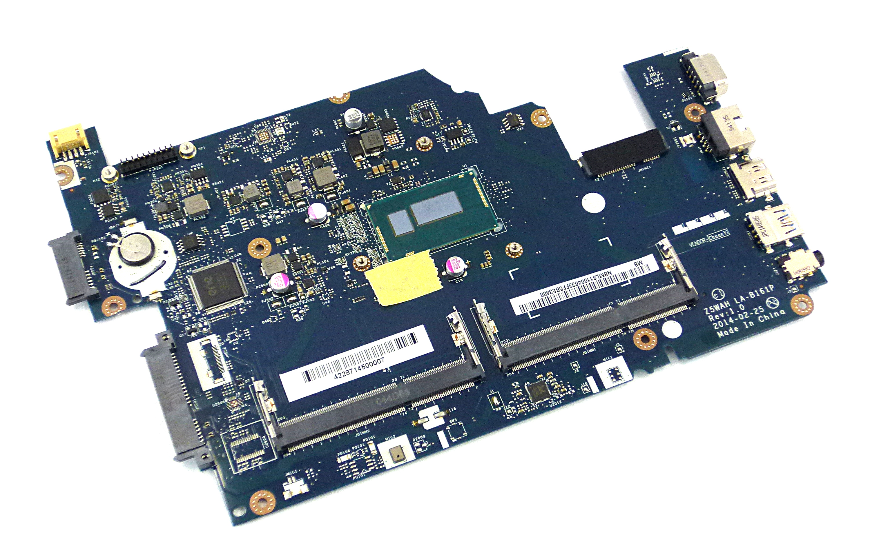 Placa de baza Acer TravelMate P256-M model NB.ML811.002 cu procesor Intel i3-4030u