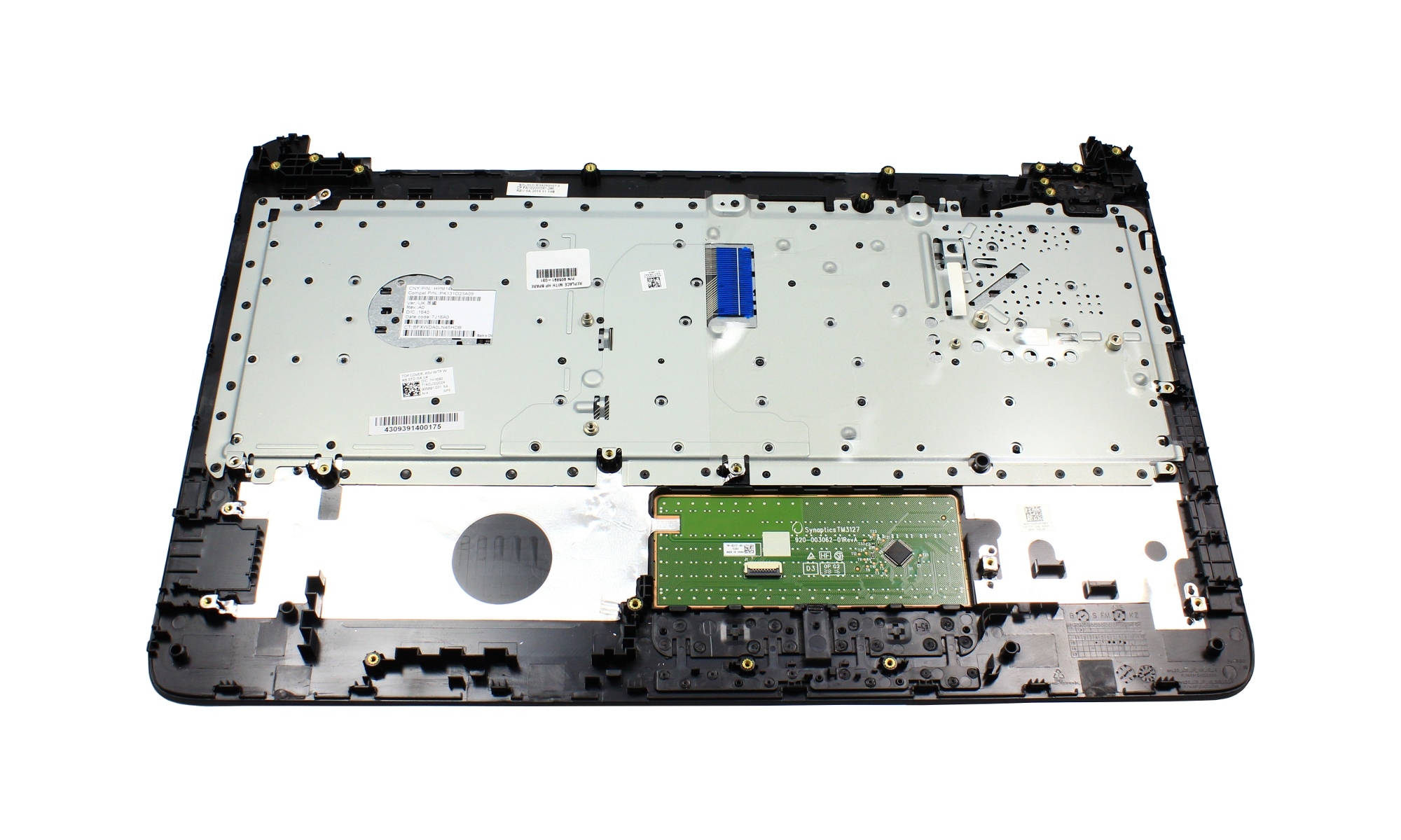 Carcasa superioara si tastatura originala HP 255 G5, fara iluminare, metalic