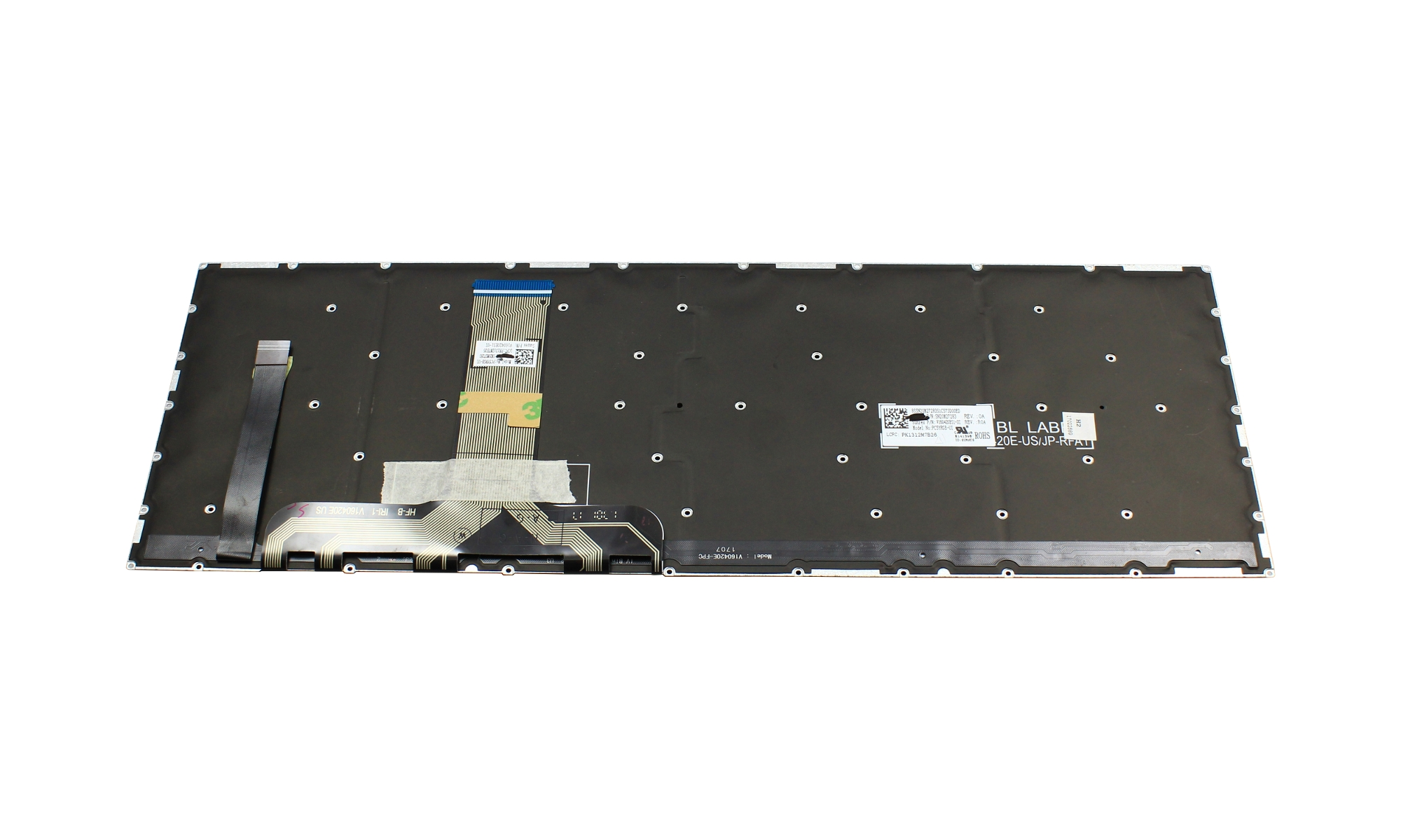 Tastatura Lenovo Legion Y720-15IKB, layout US, iluminare RGB