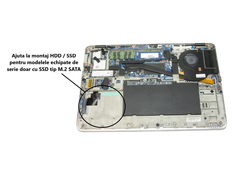 Caddy montaj HDD / SSD pentru HP EliteBook 840 G4