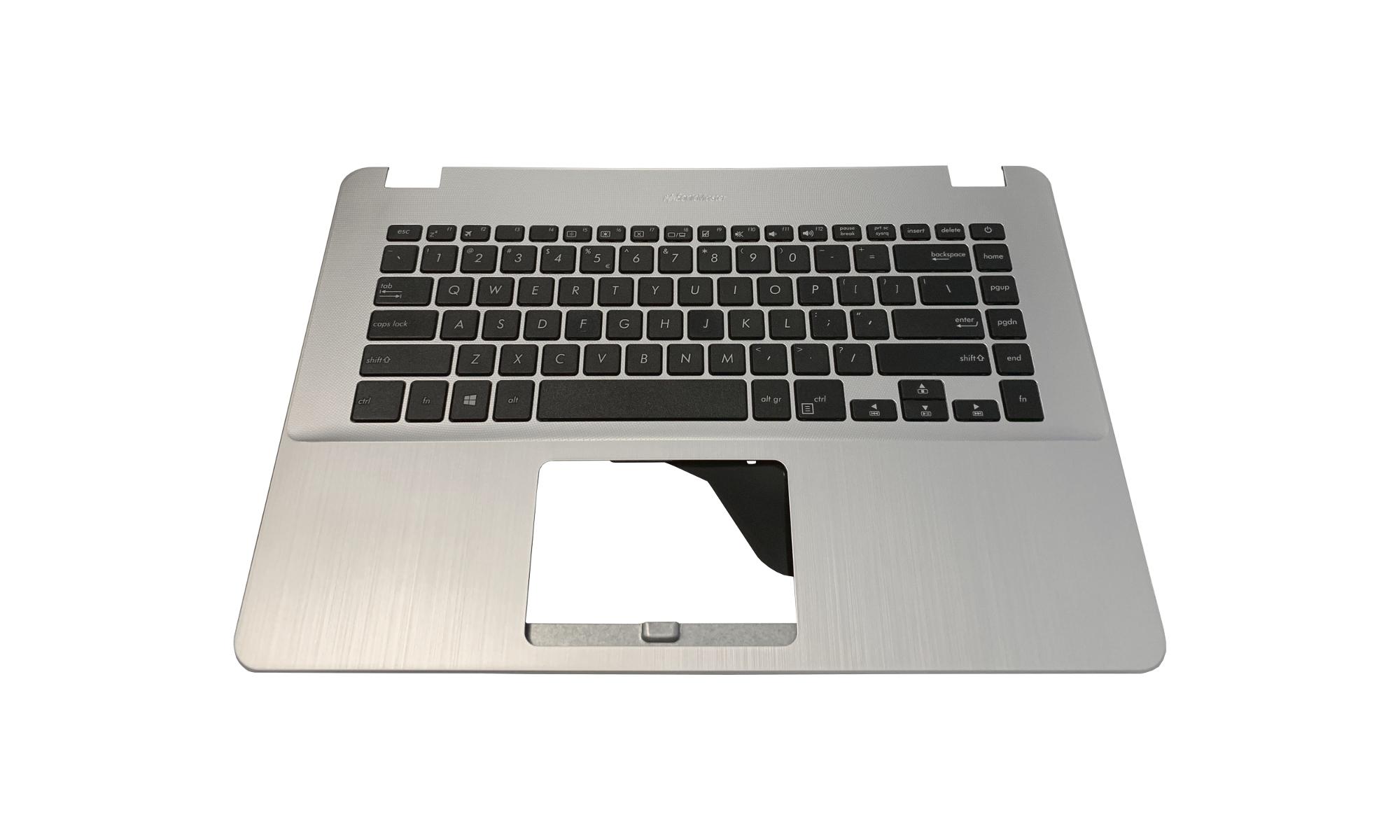 Carcasa superioara si tastatura originala Asus VivoBook 15 X505BP, fara iluminare, layout US