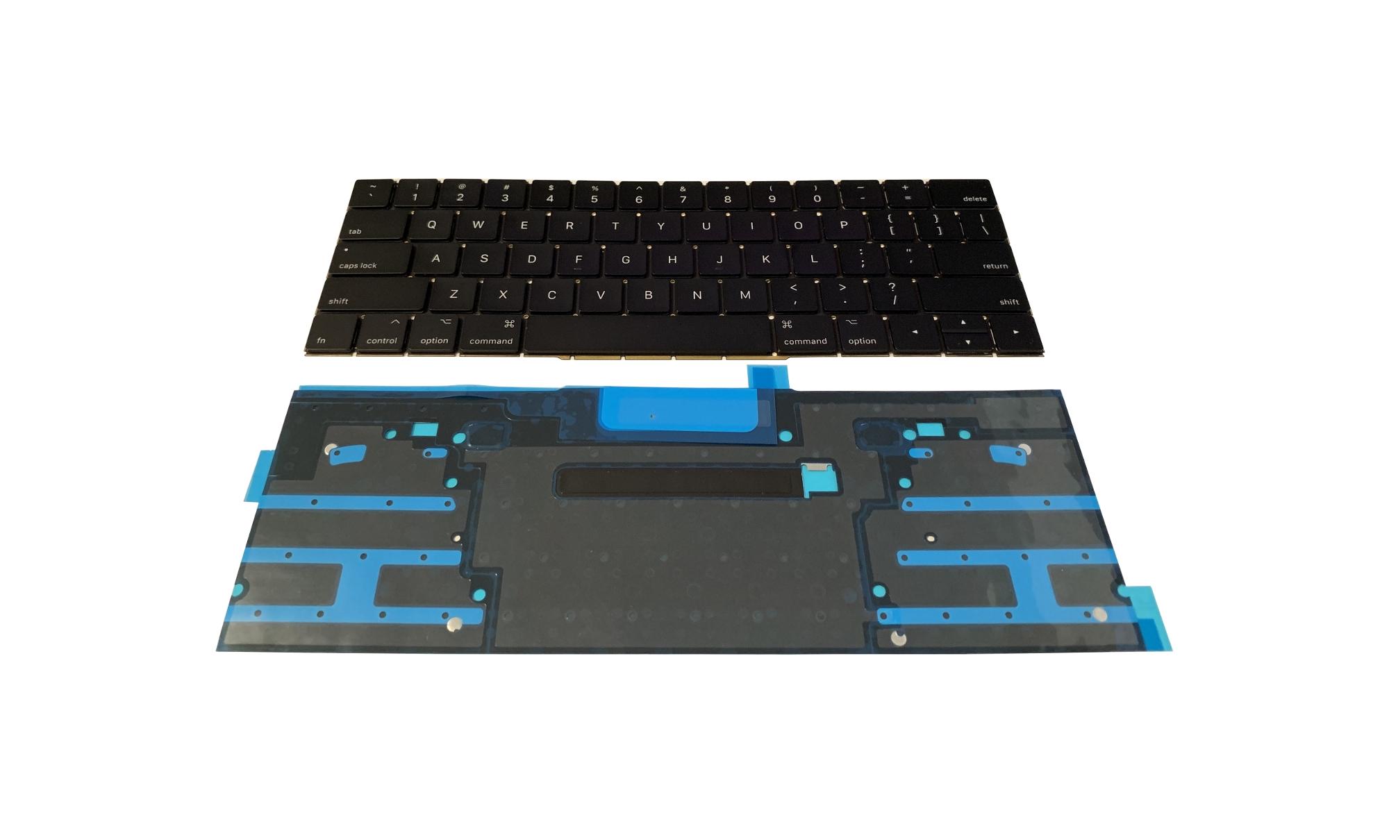 "Tastatura Apple MacBook Pro 15"" A1707 Touch Bar (Late 2016, mid 2017) cu modul iluminare, layout US"