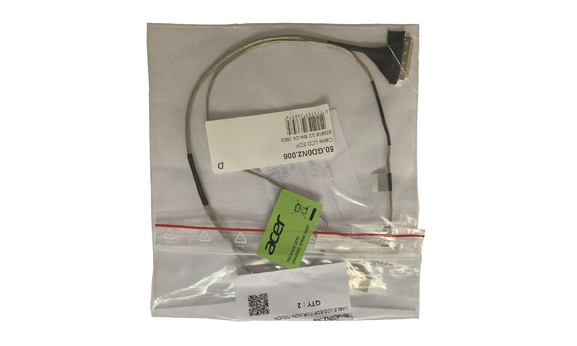 Cablu video original Acer Aspire ES1-572, pentru display nontouch