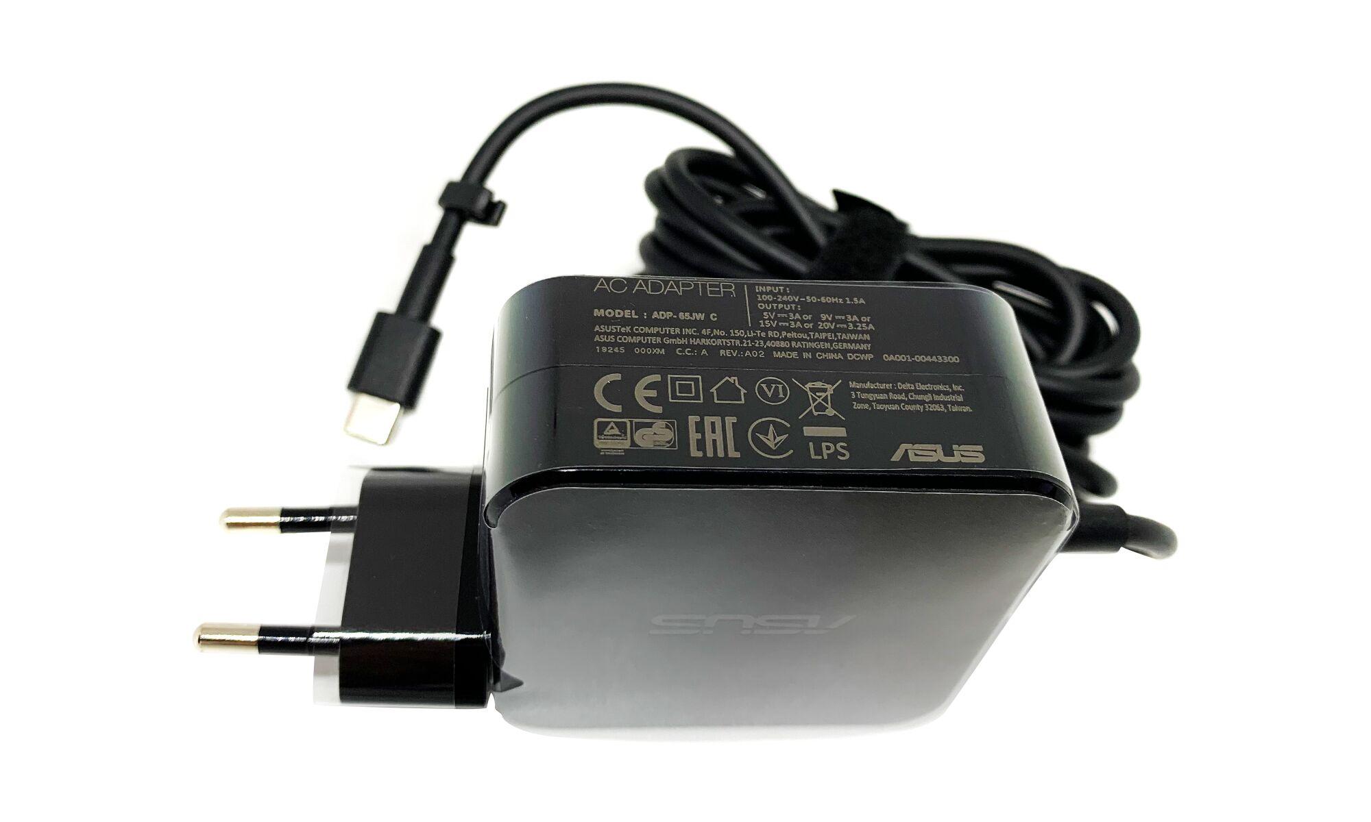Incarcator original Asus ZenBook S13 UX392FA, UX392FN, 20V 3.25A 65W