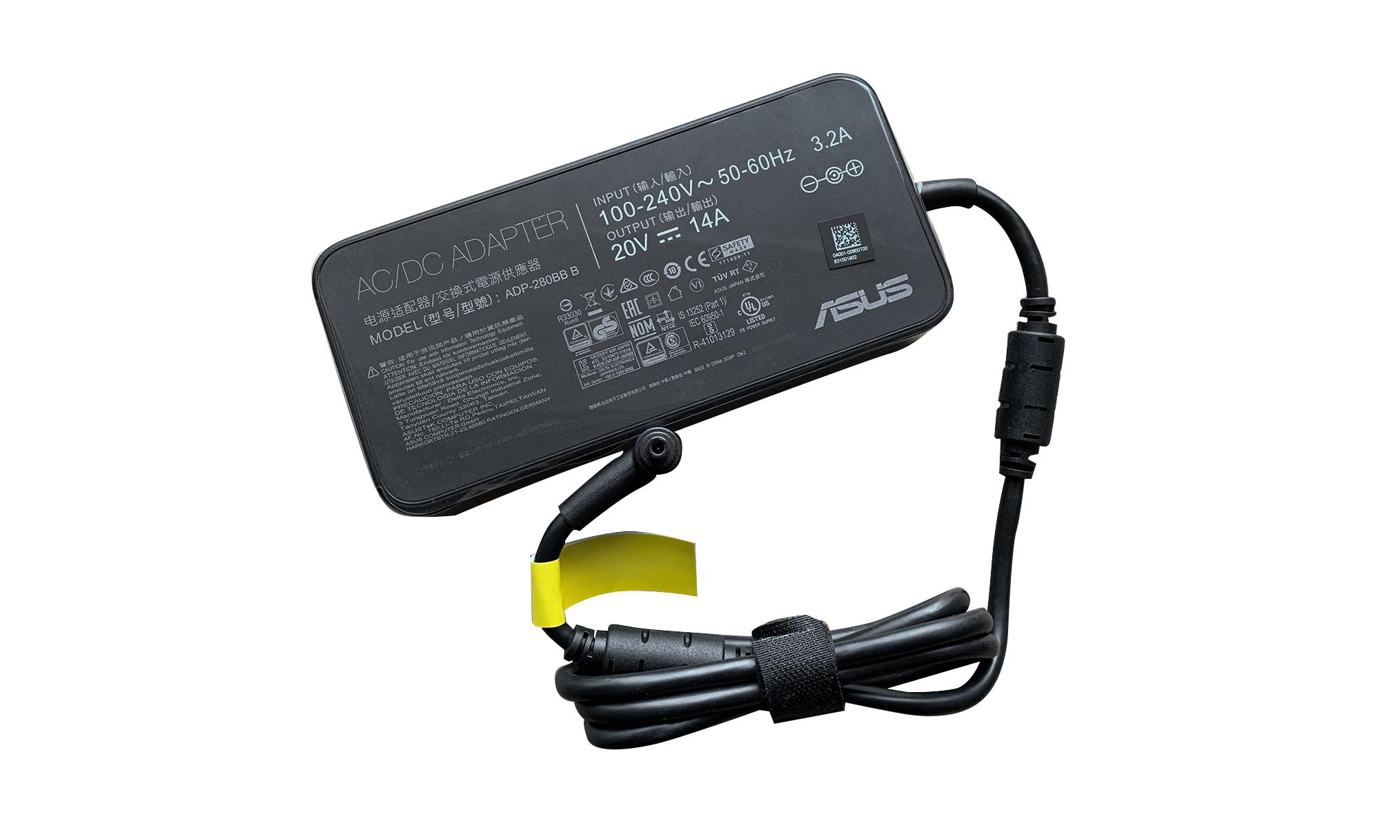 Incarcator original Asus 0A001-00800700, 280W, 20V, 14A