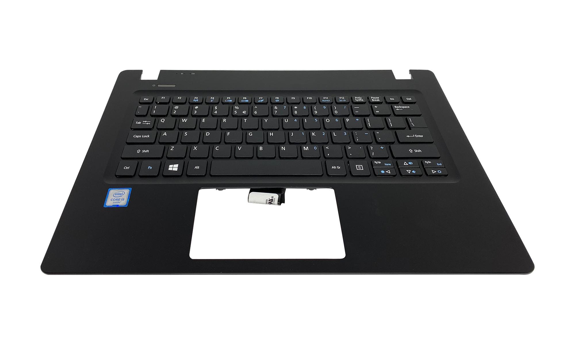 Carcasa superioara si tastatura originala Acer TravelMate, TMP238-M, fara iluminare