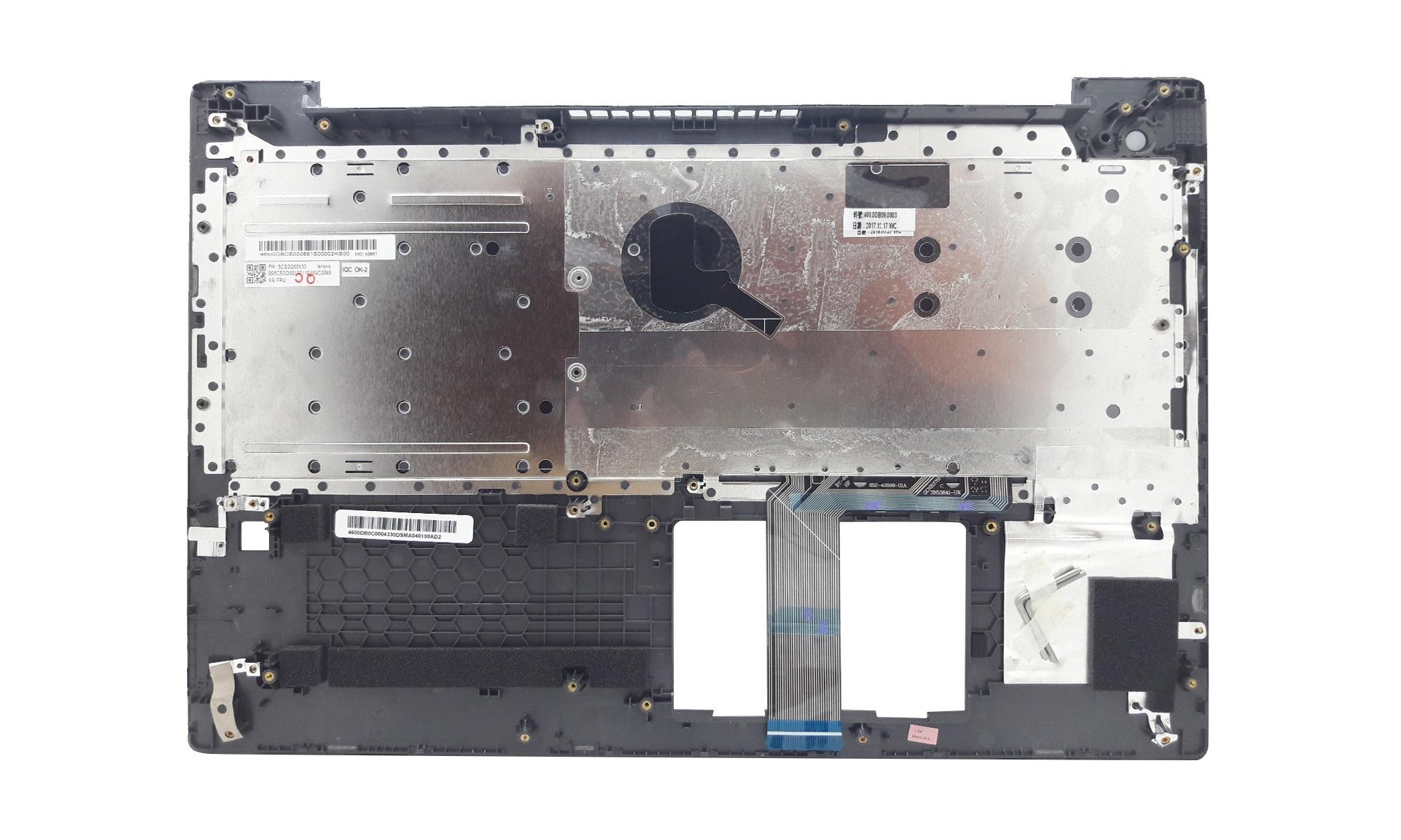 Carcasa superioara si tastatura Lenovo V330-15ISK, V330-15IKB, gri, fara iluminare, layout UK, model 5CB0Q60130