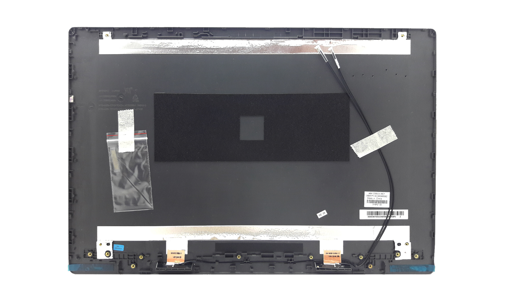 Capac display original Lenovo V330-15ISK, V330-15IKB, gri, model 5CB0Q60062