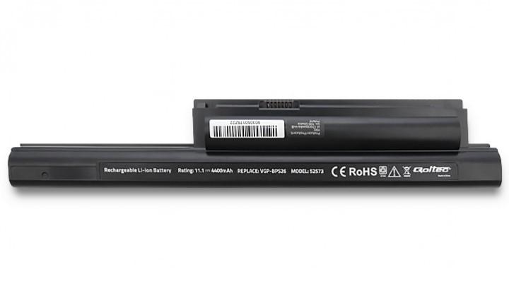 Baterie Green Cell compatibila cu Sony Vaio VGP-BPS26 VGP-BPL26 10.8V 4400mAh 48Wh