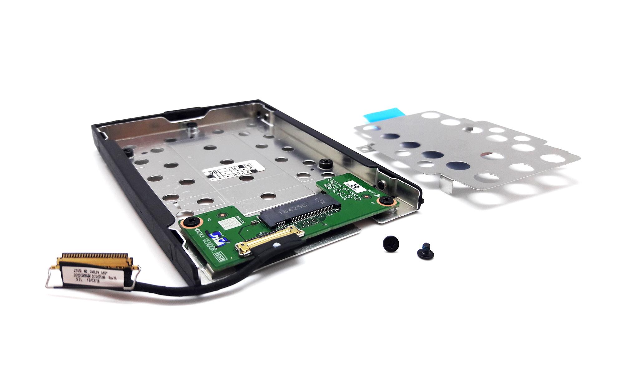 Caddy montaj SSD M.2 pentru Lenovo ThinkPad T470, T480, A475, A485, original, model 4XF0N82414