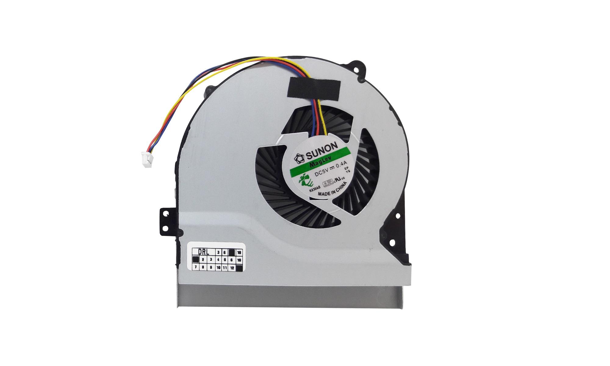 Cooler compatibil Asus A56CB, A56CM, U58CB, U58CM, V550CB, V550CM, K550CC, K56CA, K56CB, K56CM, P450CA, P550CA, P550LA, model Sunon