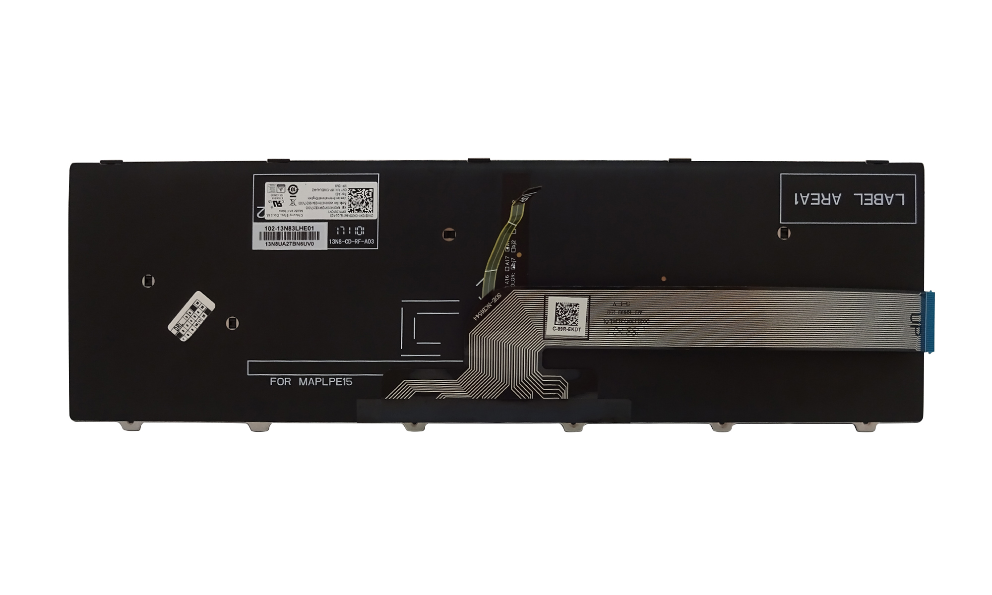 Tastatura originala Dell Inspiron 15 3541, 15 3542, 15 3543, 15 5555, 15 5558, 15 5559, Vostro 15 3558, neagra, cu iluminare, layout US, model 51CHY