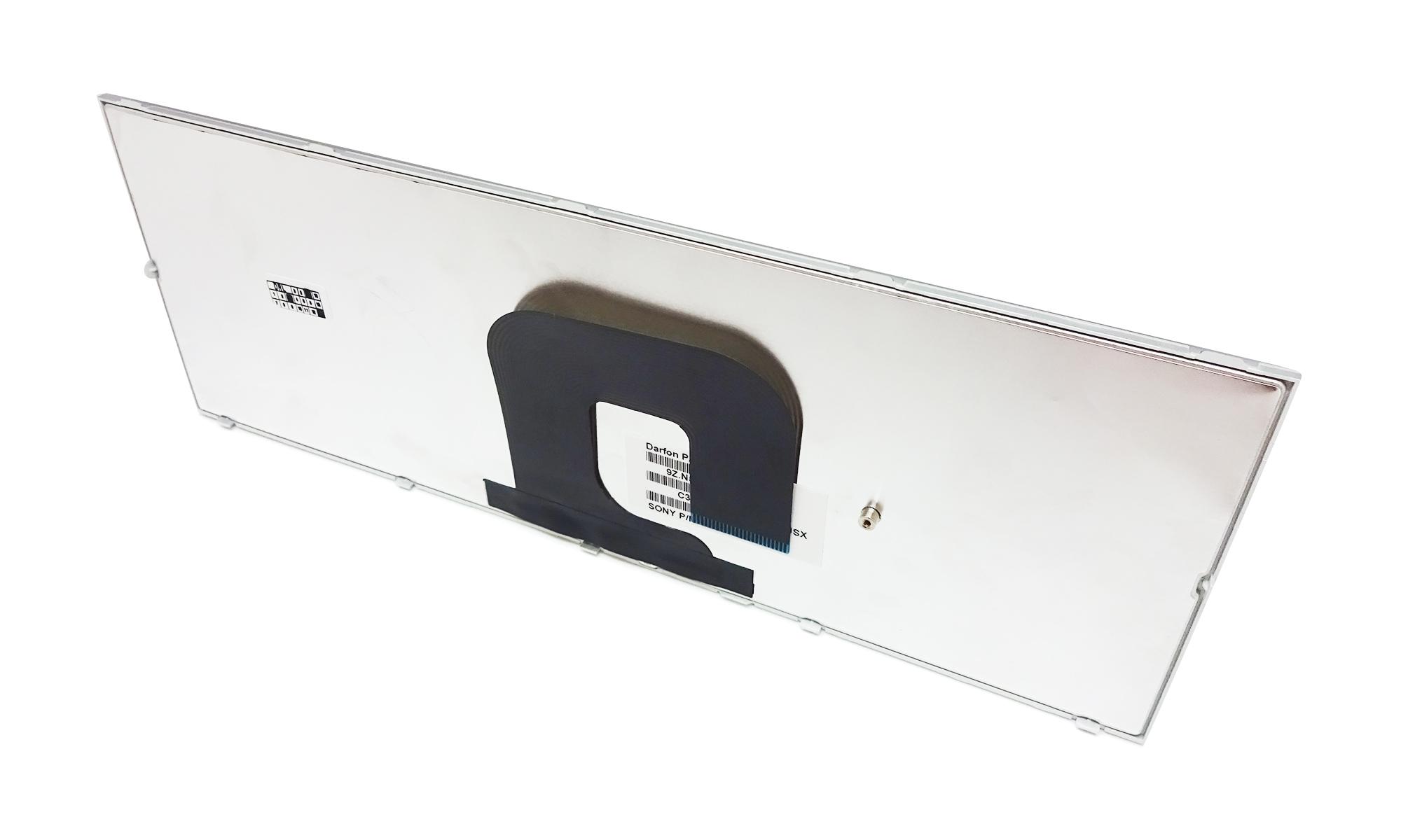 Tastatura originala laptop Sony Vaio, seriile VPCYA si VPCYB, layout US, argintie