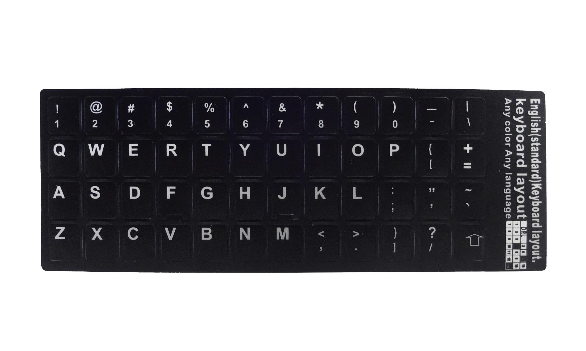 Abtibild sticker pentru tastatura