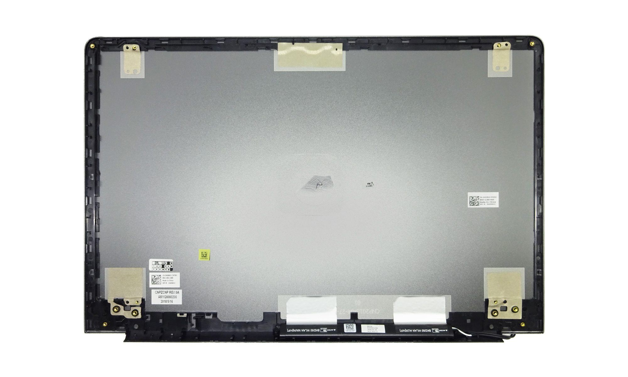 Capac display pentru Dell Vostro 15 5568, original, gri, model WDRH2
