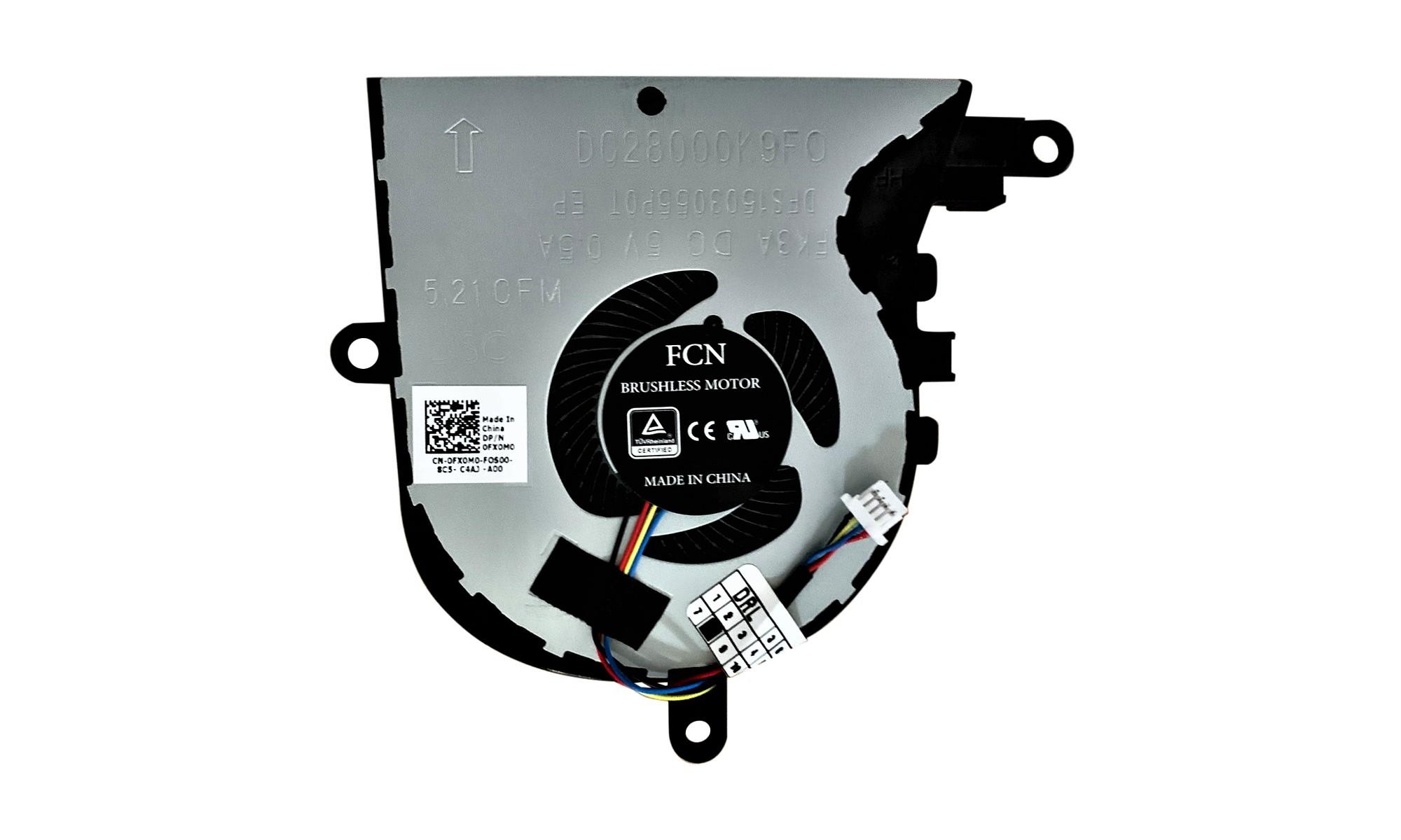 Cooler compatibil pentru procesor laptop Dell Latitude 3590, Inspiron 15 5570, Inspiron 17 5770 echipate cu placa video AMD