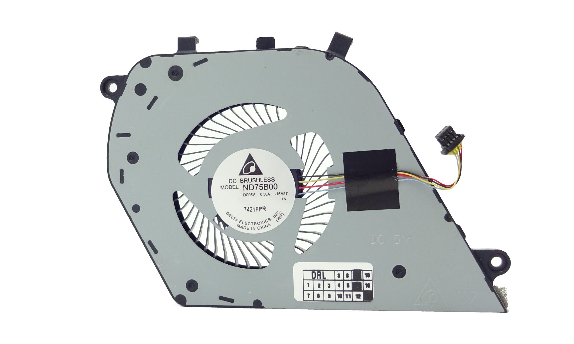 Cooler compatibil laptop Dell Inspiron 7580, Inspiron 15 7570, 7573
