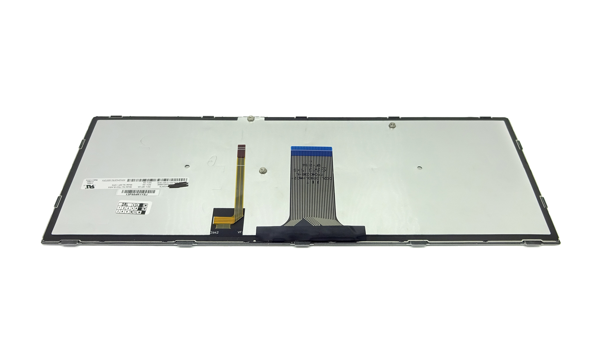 Tastatura compatibila Lenovo G40-30, G40-45, G40-70, G40-70m, G40-80, Z40-70, Z40-75, Ideapad Flex 2-14, rama argintie, cu iluminare, layout US
