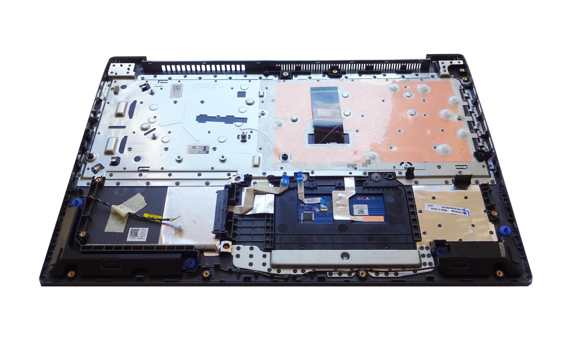 Carcasa superioara si tastatura Lenovo V15-IWL, neagra, fara iluminare, layout US, originala, model 5CB0W44125