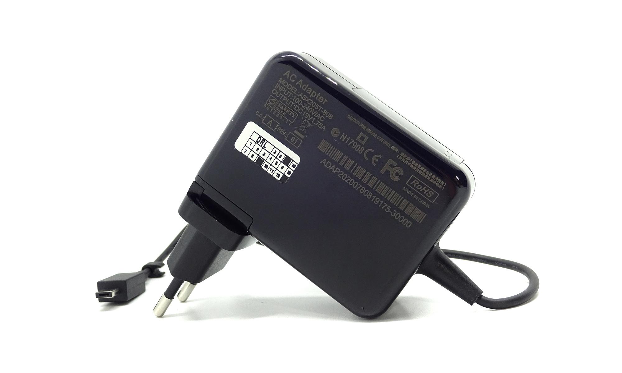 Incarcator compatibil Asus Eee Book E200HA, E202SA, E205SA, F205TA, L200HA, R205TA, R209TA, TP200S, TP200SA, X205TA, X206HA, 19V, 1.75A, 33W