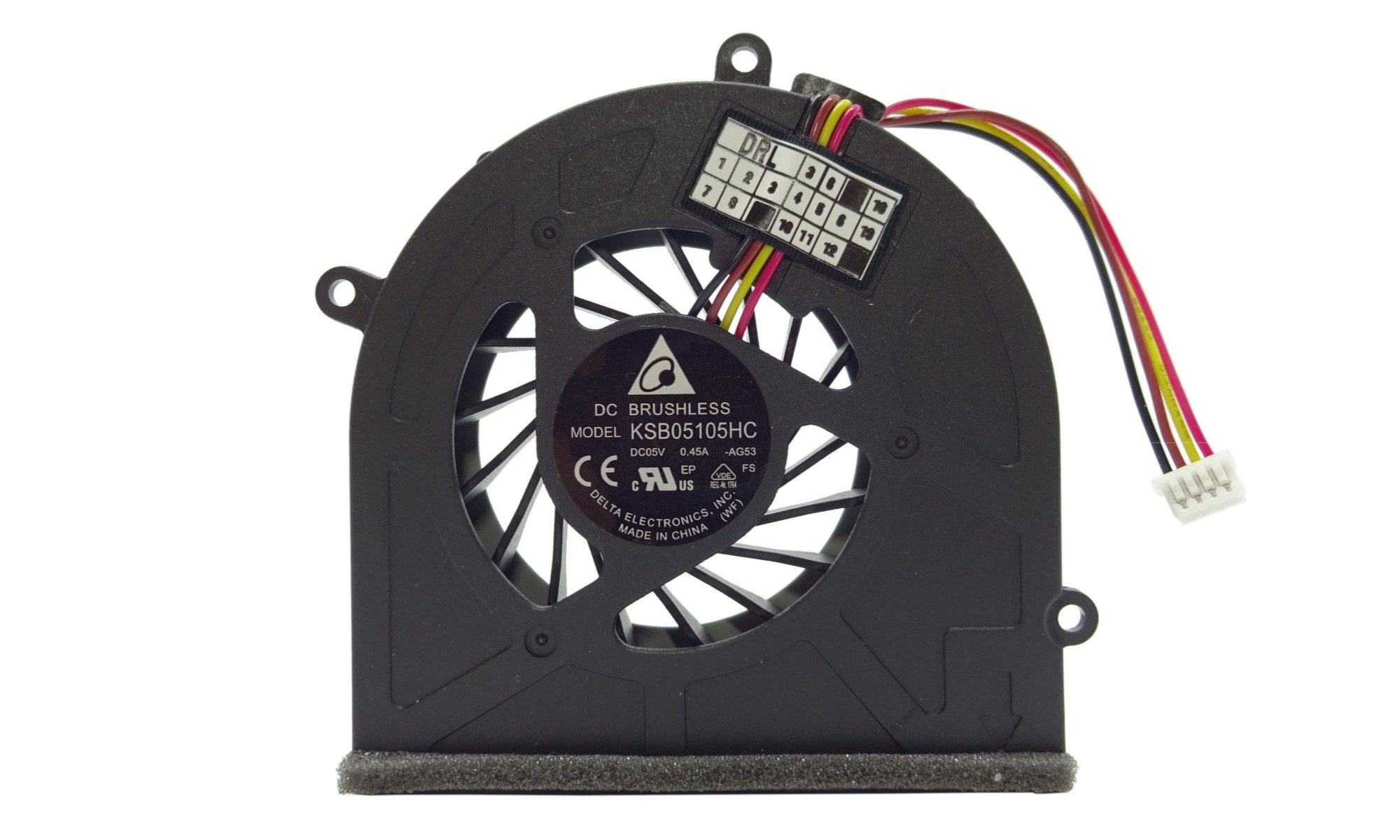 Cooler compatibil Delta Electronics pentru laptop Lenovo IdeaPad G470, G475, G570, G575