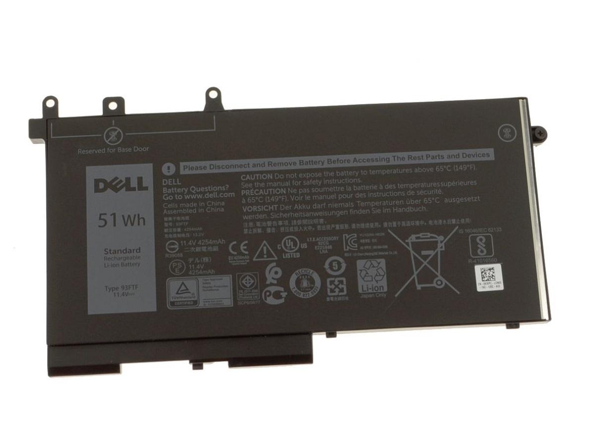 Baterie originala Dell Latitude 5591, 3 celule 51Wh