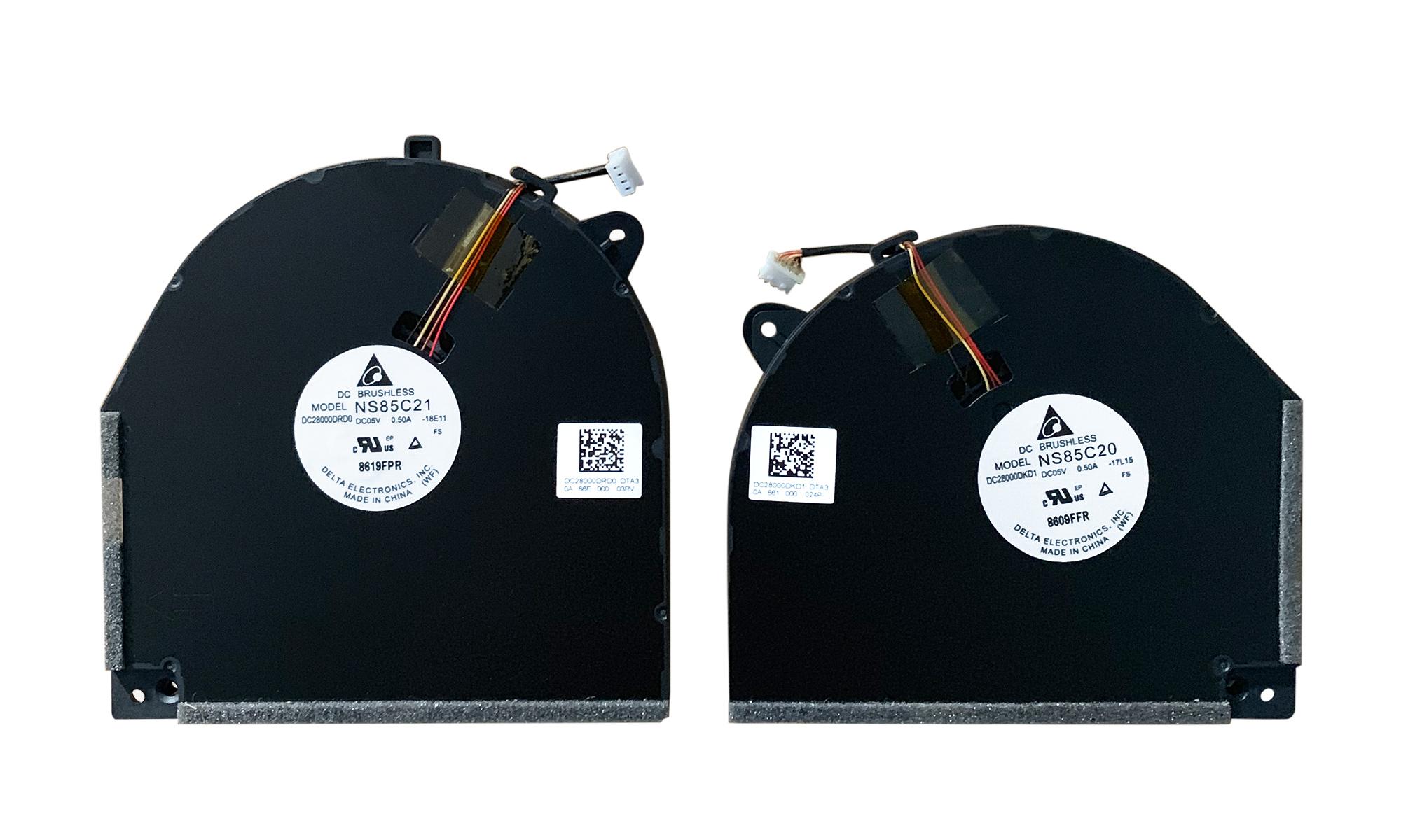 Set ventilatoare compatibile Lenovo Legion Y530-15ICH, Y540-15IRH-PG0, Y7000-2019-PG0