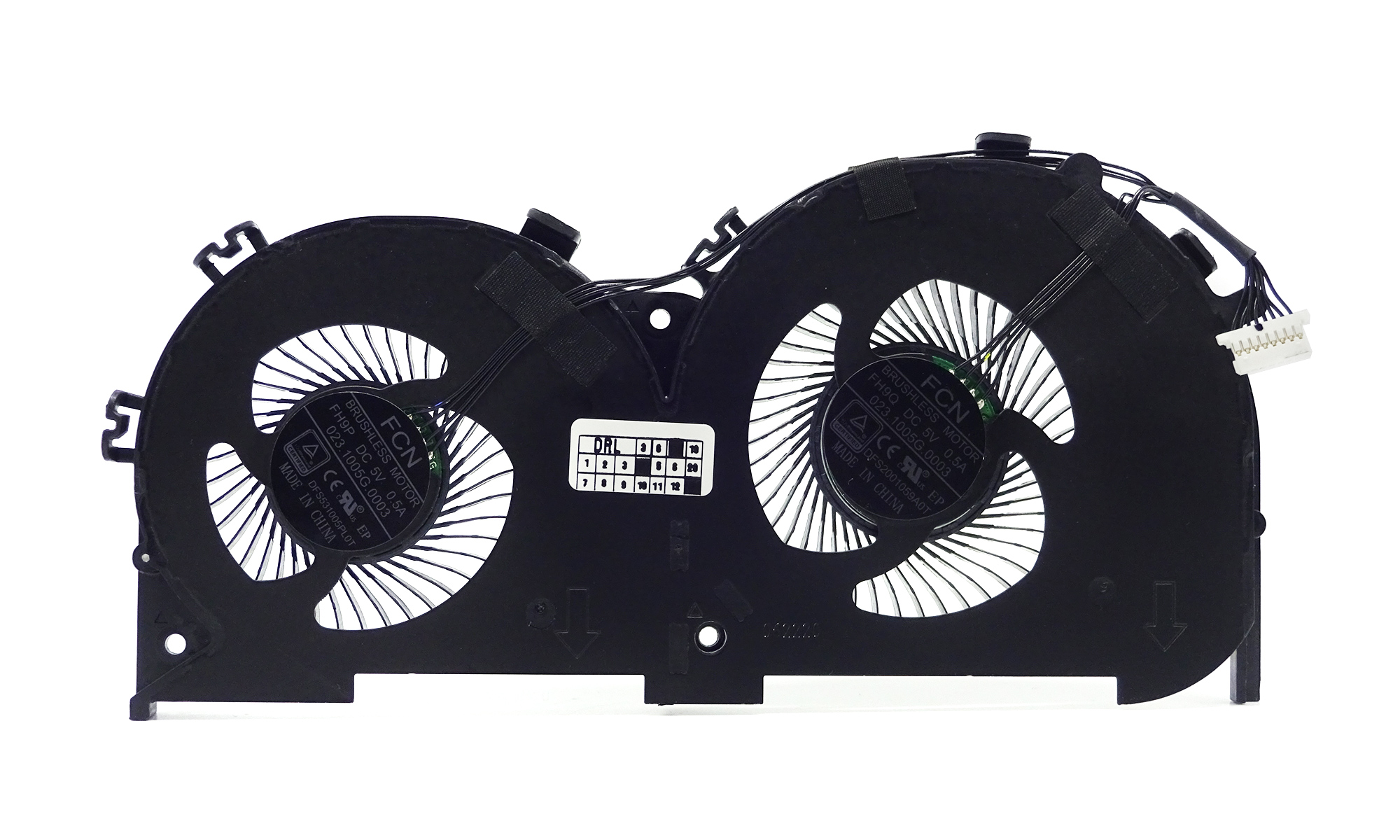 Sistem ventilatoare compatibil Lenovo Ideapad 700-15ISK, 700-17ISK