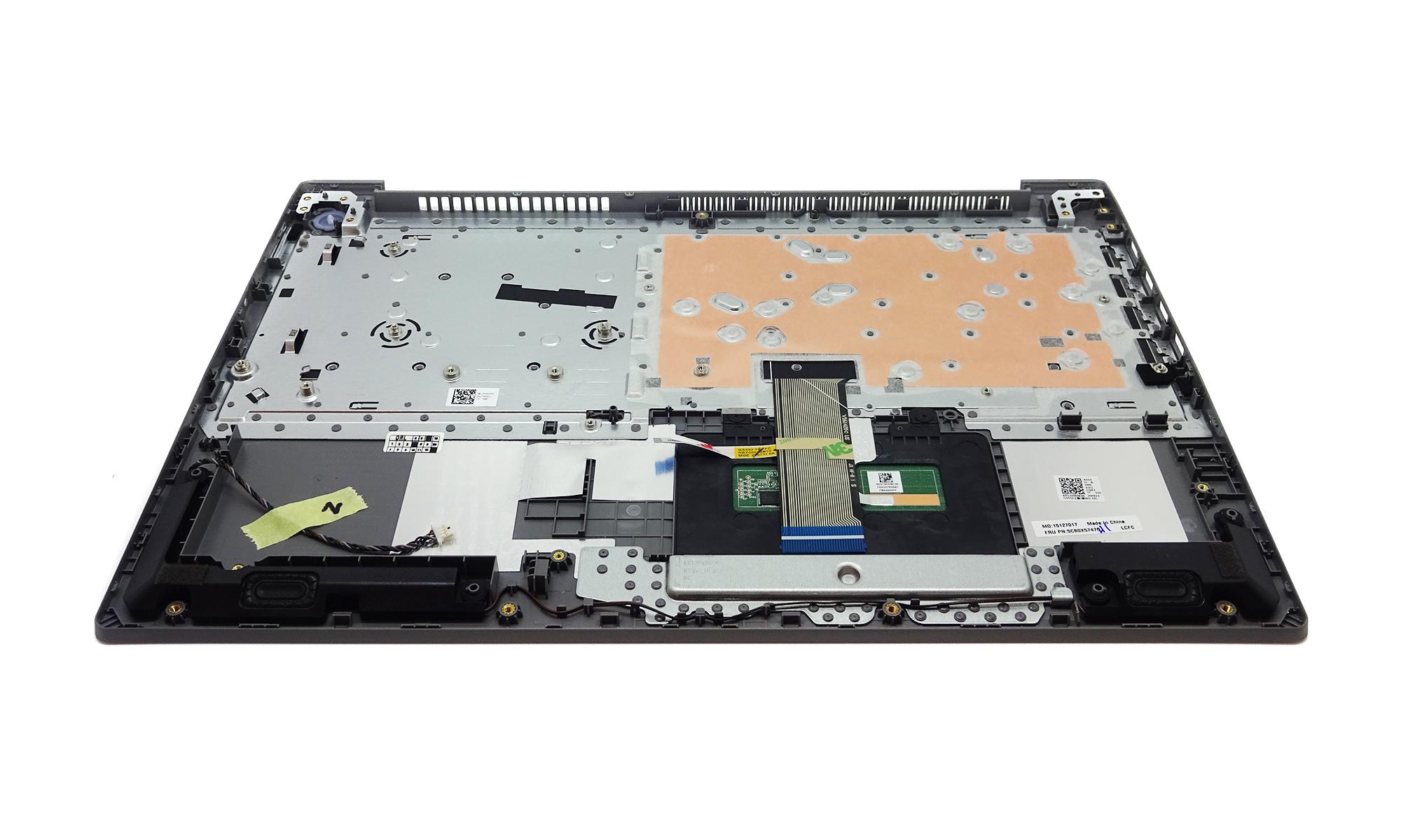 Carcasa superioara cu tastatura Lenovo IdeaPad 3-15ARE05, 3-15IGL05, 3-15IIL05, 3-15IML05, argintiu, layout US, fara iluminare, originala