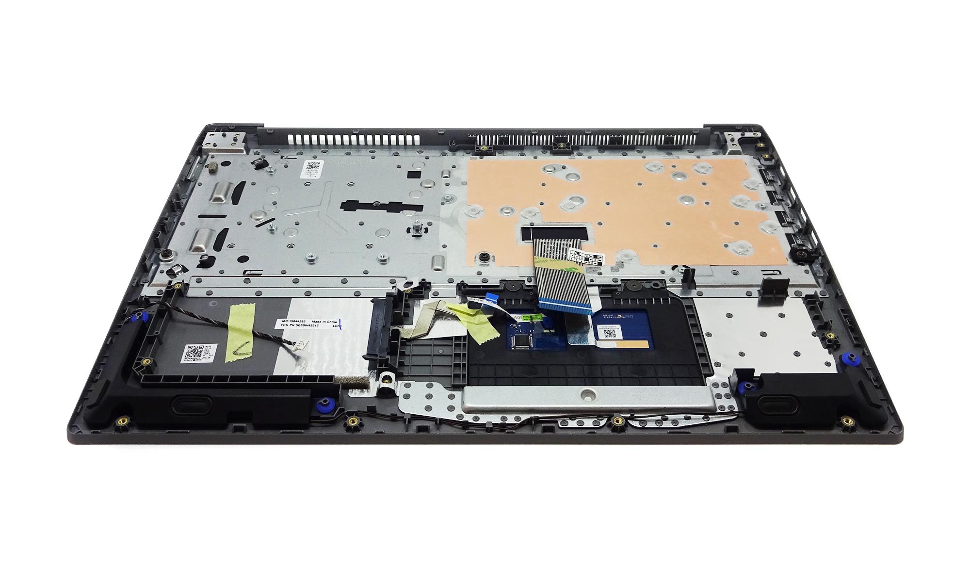 Carcasa superioara cu tastatura Lenovo IdeaPad S145-15IIL Type 81W8, argintie, layout US, fara iluminare, originala, model 5CB0W45517