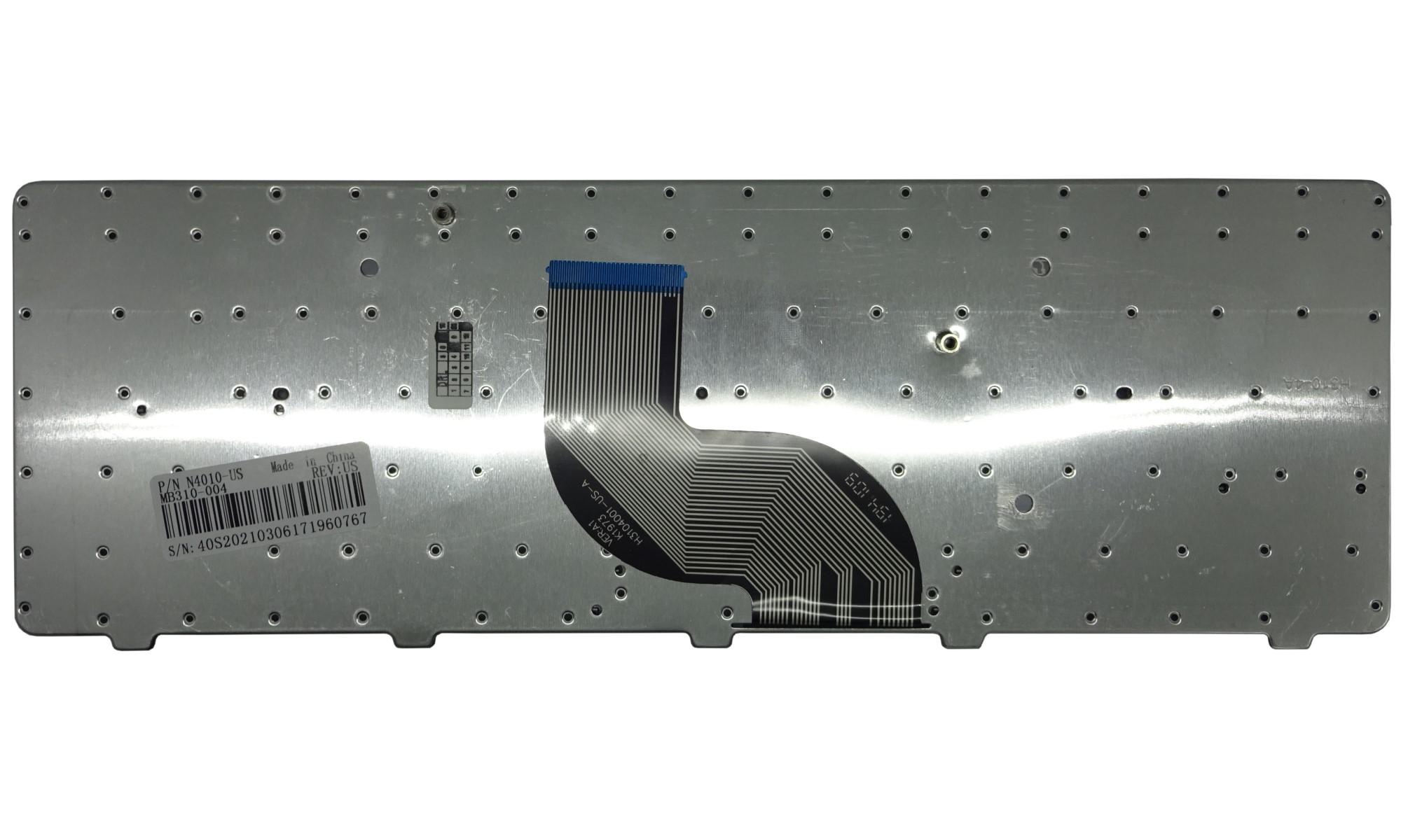 Tastatura compatibila Dell Inspiron  N3010, 14R N4010, N4020, N4030, N5020, N5030, M5030, layout US, fara iluminare