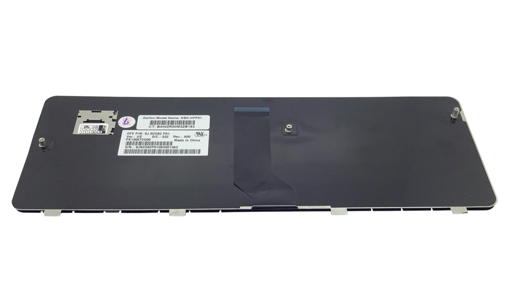 Tastatura compatibila HP Pavilion DV3-1000, DV3-2000, DV3-2100, DV3-2200, DV3-2300, fara iluminare, albastru inchis, lucios
