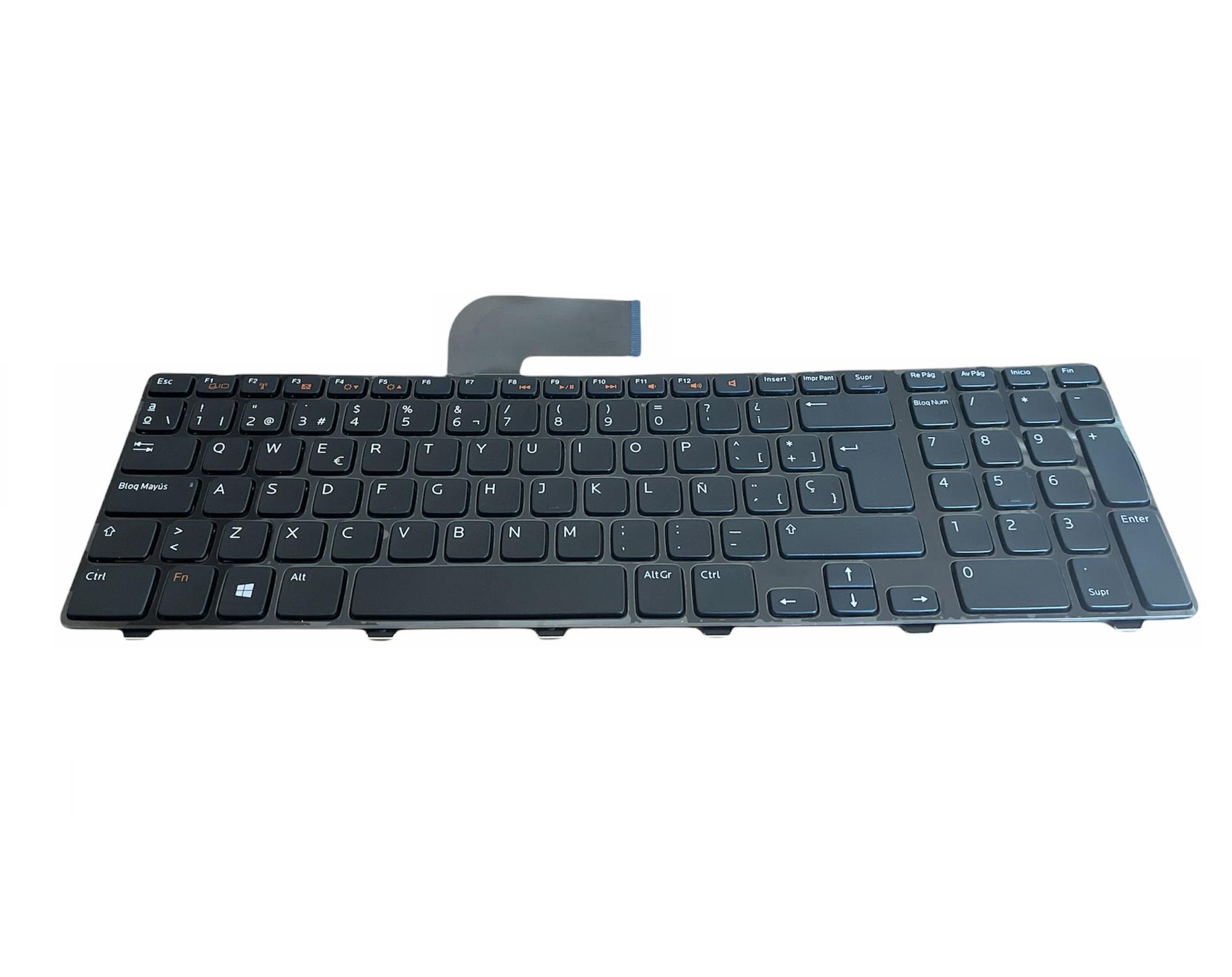Tastatura compatibila Dell Inspiron 17R 5720, 7720, N7110, Vostro 3750, XPS L702X, layout Spanish, fara iluminare