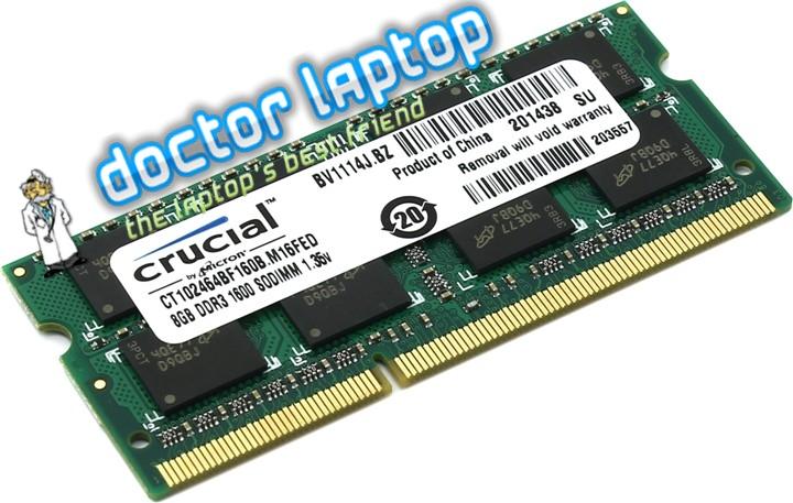Memorie laptop Crucial 8GB 1600MHz DDR3 SODIMM