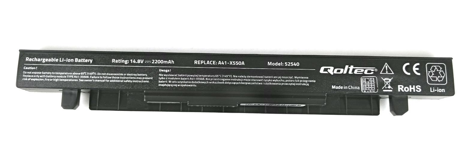 Baterie compatibila laptop Asus X550LN