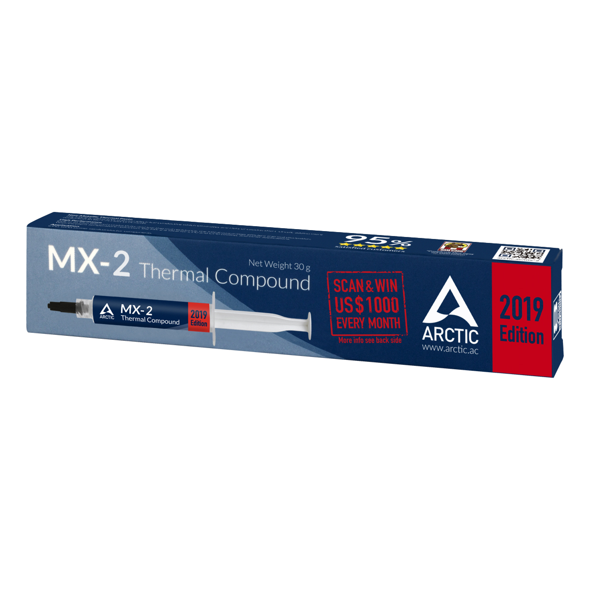 Pasta termoconductoare Arctic Cooling MX-2 tub 30g