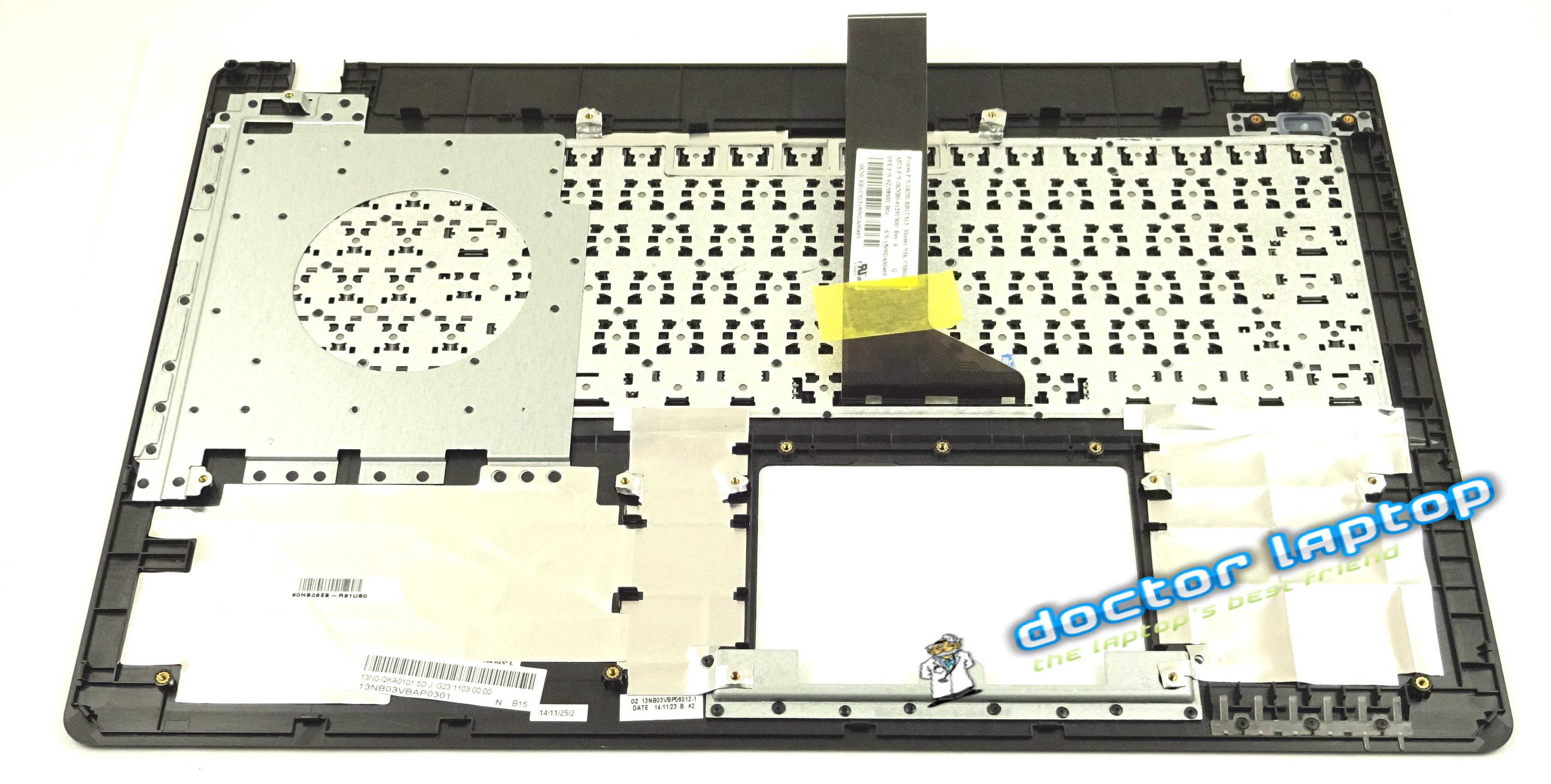 Carcasa superioara si tastatura Asus K550JK NEGRU