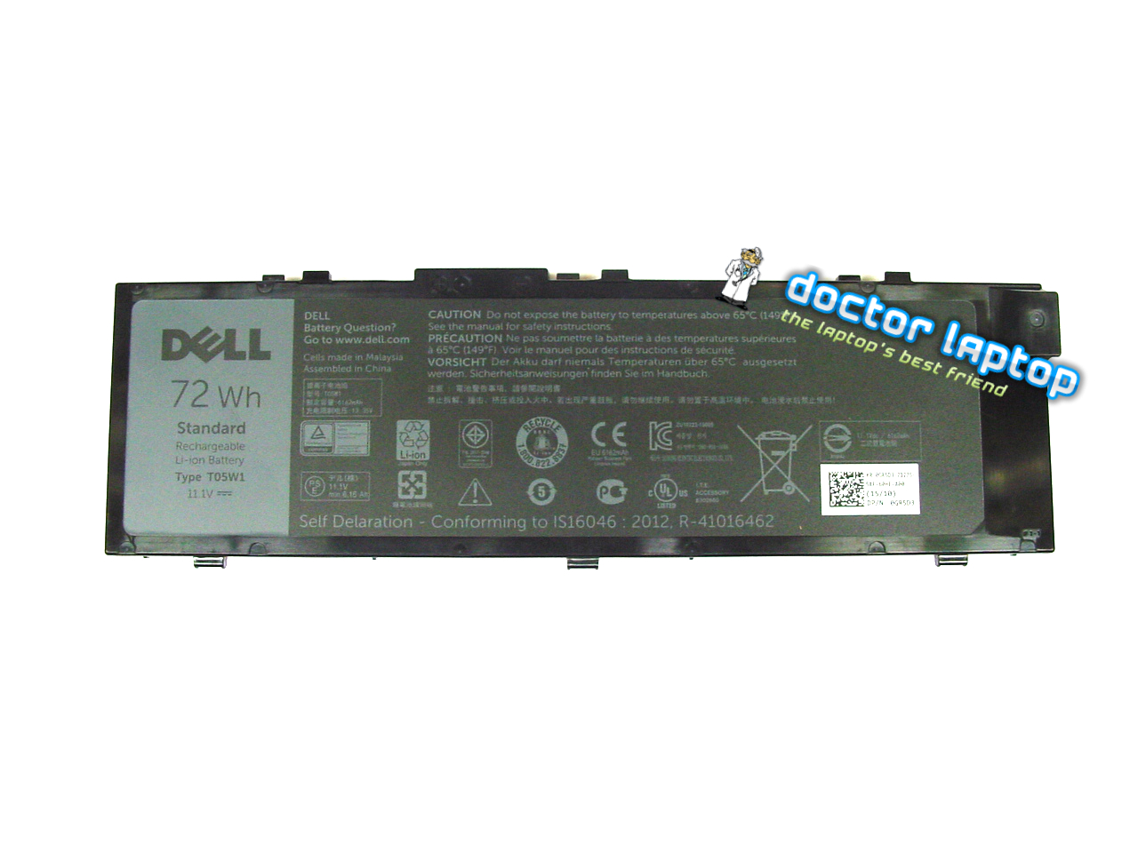 Baterie originala Dell Precision 17 7710 72 Wh