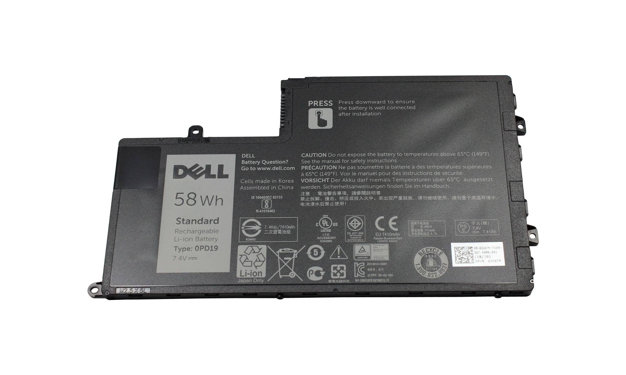 Baterie originala Dell Inspiron 15 5547 58Wh