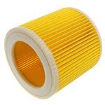 Filtru cartus cilindric compatibil pentru aspirator Kärcher A2200-A2999, A3100-A3199, 4000 Plus, 4000 TE, WD2.200-WD2.999, WD3.000-WD3.999, SE4001 SE4002, A2200x-A2299x, A2600x-A2699x